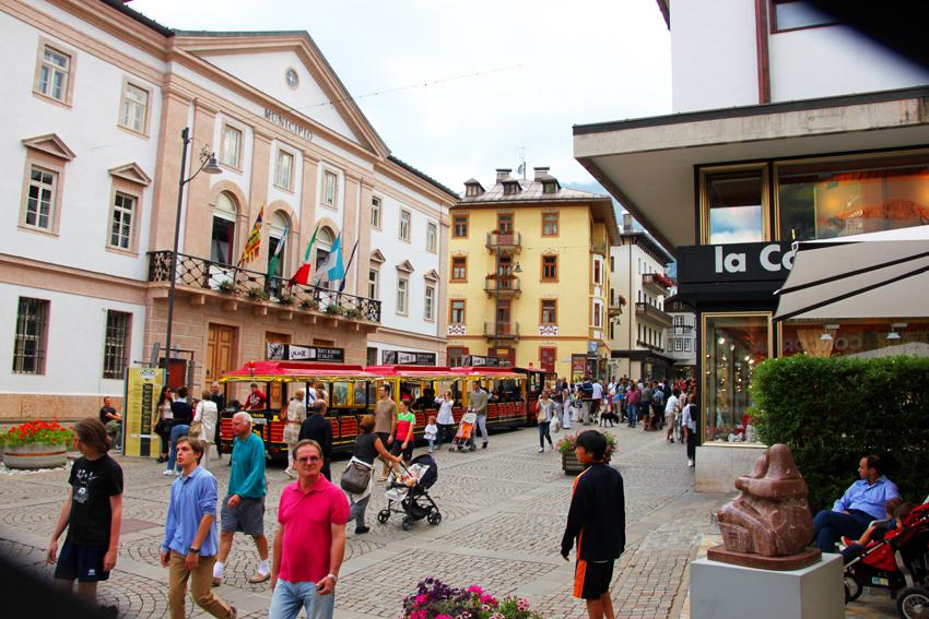 コルソイタリアに面した市役所
