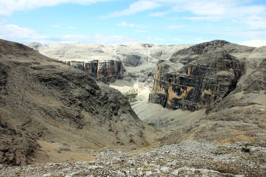 セラ山群の眺め
