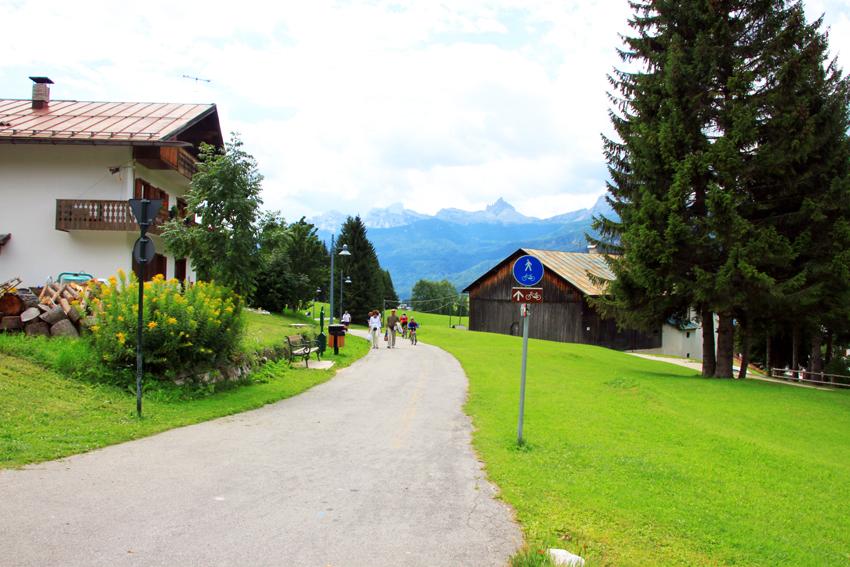美しい景色とサイクリングコース