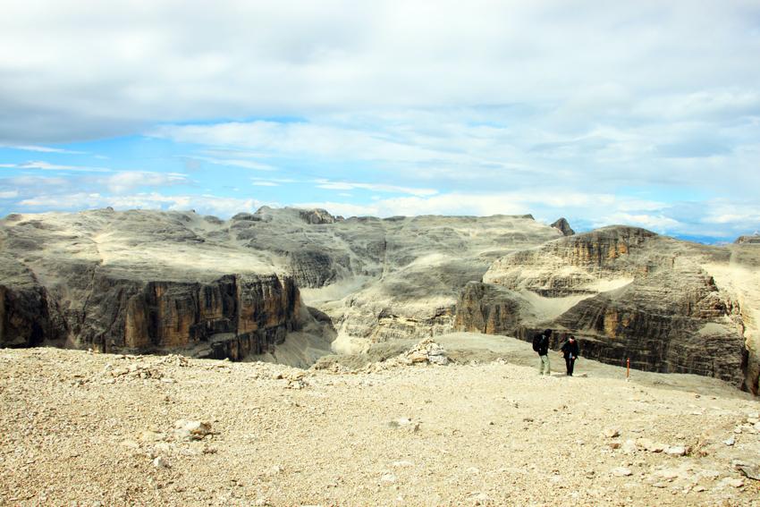 セラ山群の頂き