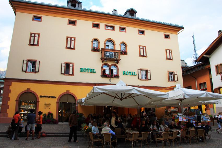 コルチナダンペンッツォのレストラン