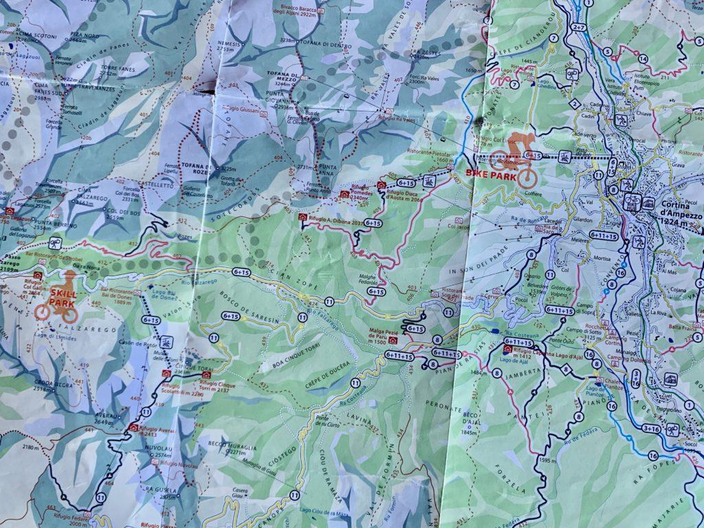 コルチナバイクマップ