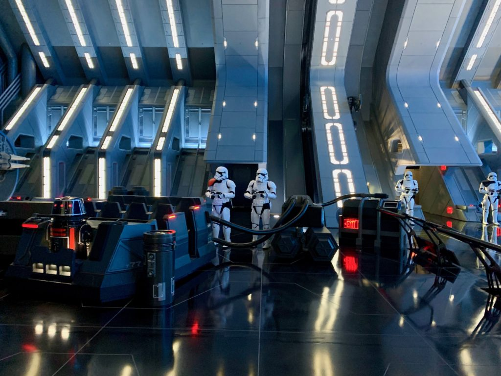 ハリウッドスタジオにオープンしたスターウォーズのアトラクション