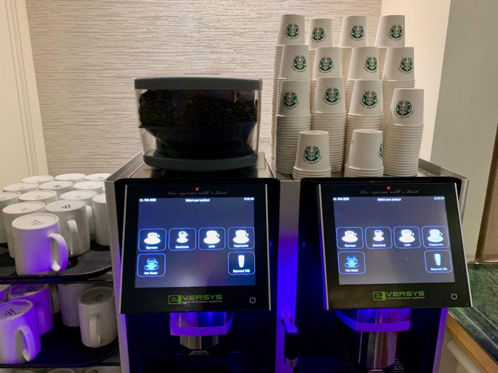 スタバのコーヒーマシン
