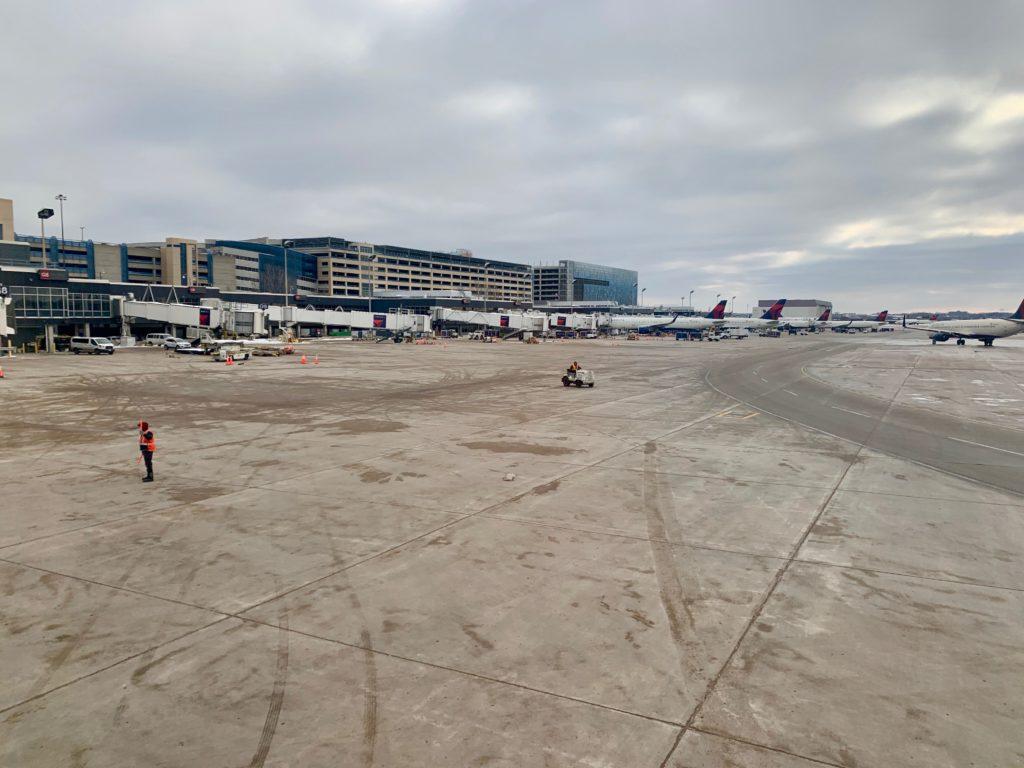 旧ノースウェスト航空のハブ空港だったミネアポリス・セントポール国際空港