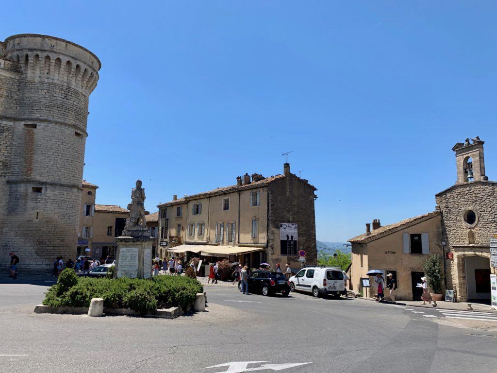 ゴルド村の中心の広場