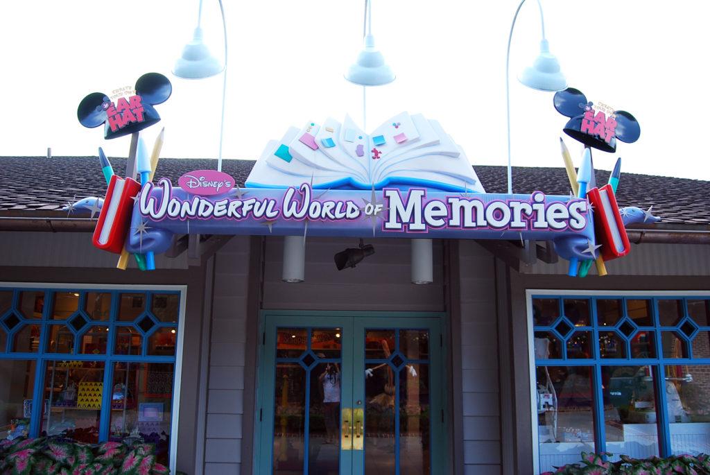 ワンダフル・ワールド・オブ・メモリーズの入り口