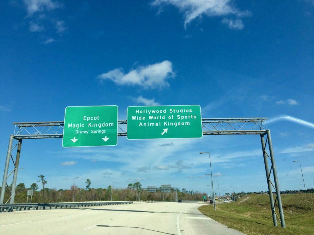 オーランドの道路標識