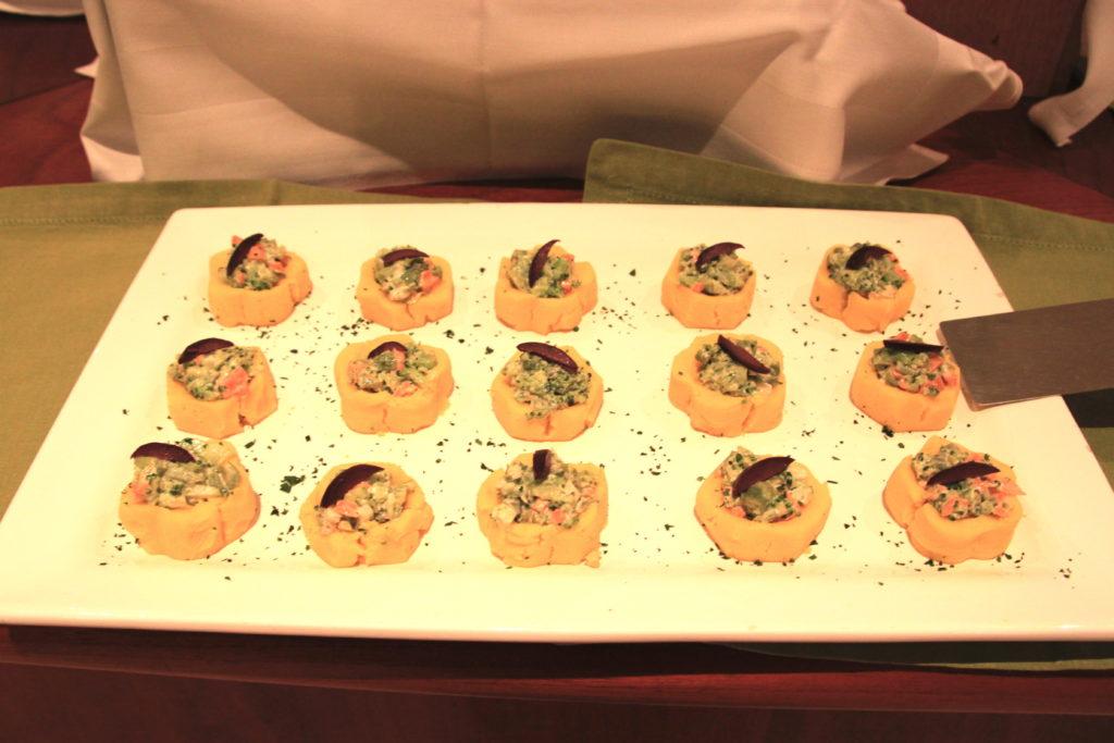 カンタヨホテルの夕食