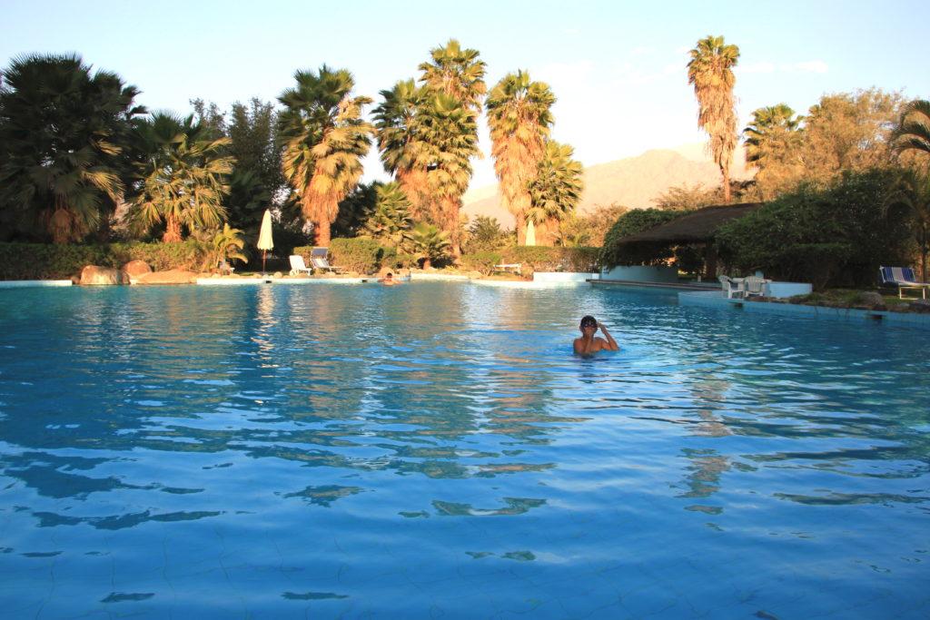 カンタヨリゾートホテルのプール