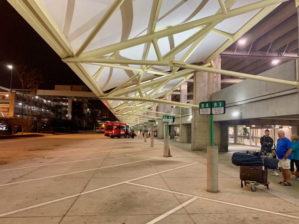 メインターミナルBサイドのグランドトランスポーテーション
