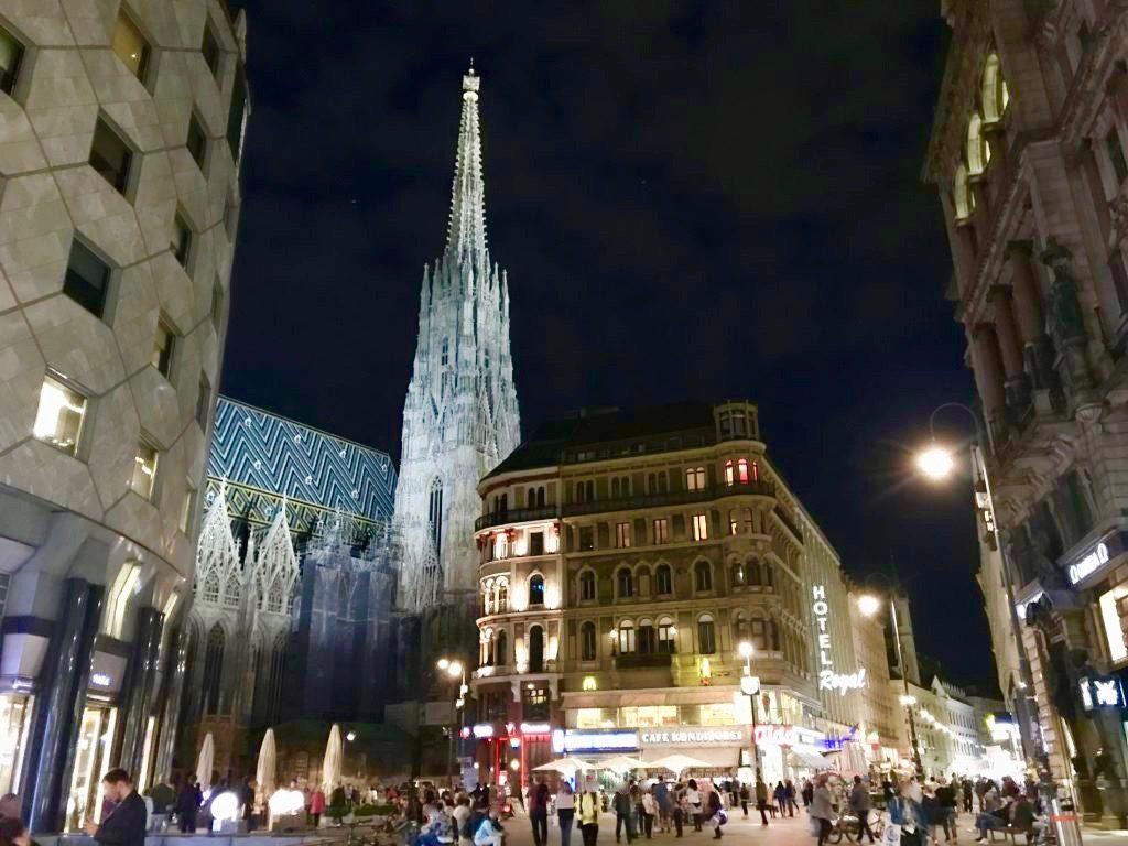 シュテファン大聖堂と世界遺産ウィーン歴史地区
