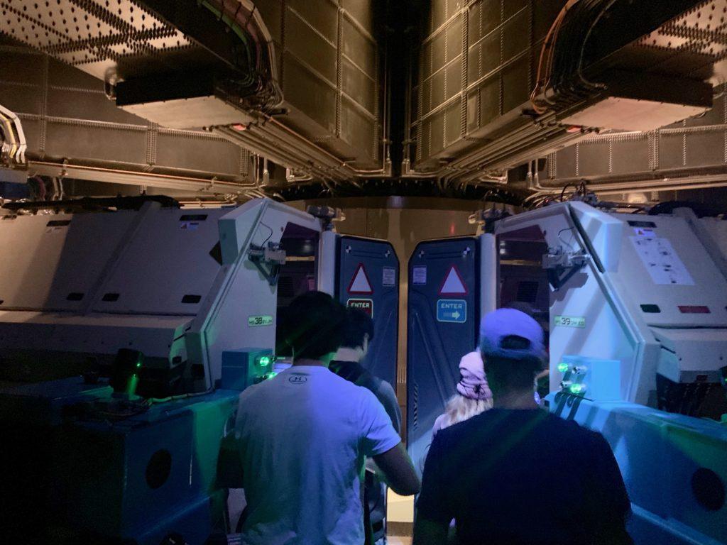 訓練用の宇宙船