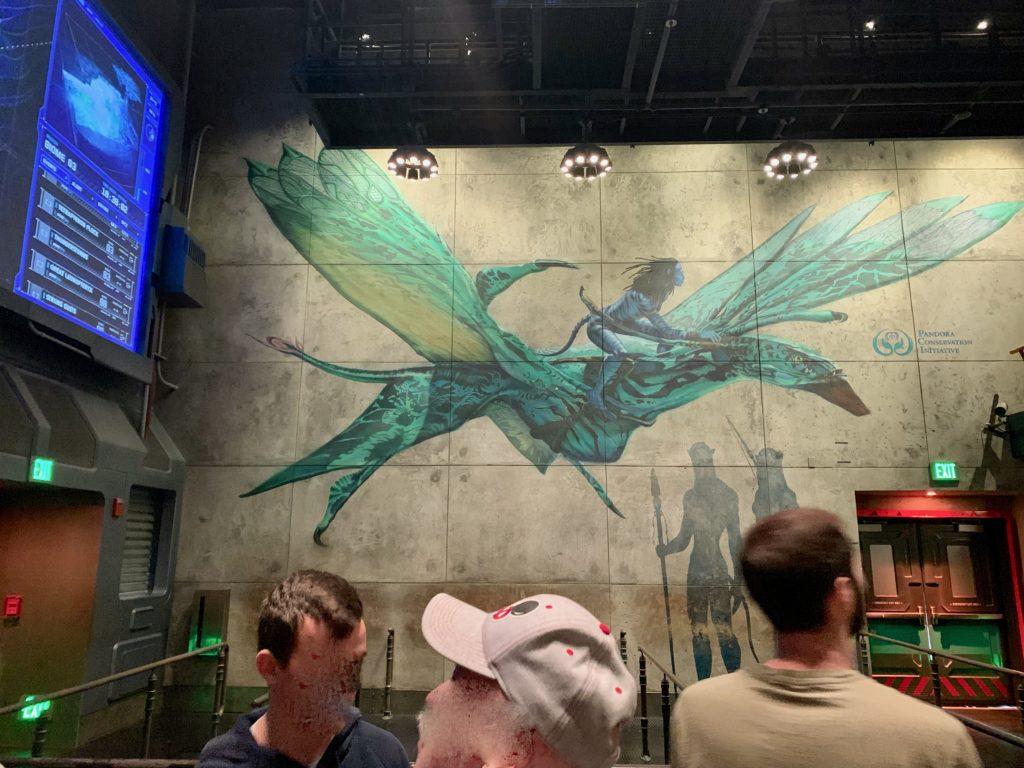 ナヴィ族とバンシーの壁画