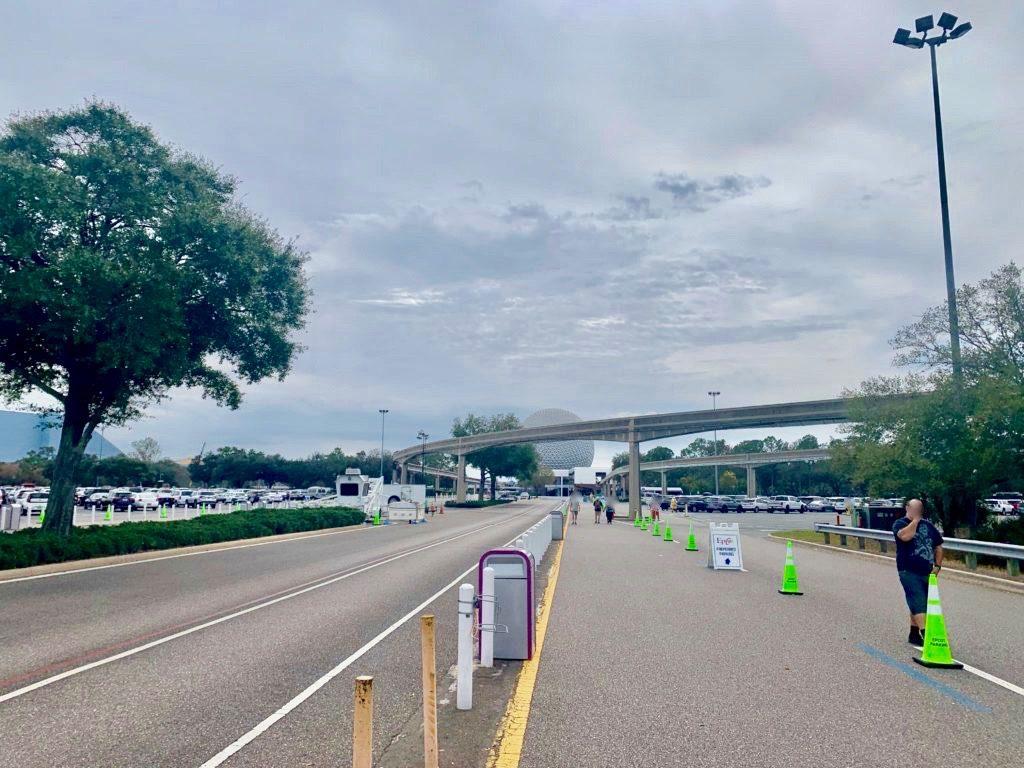 エプコットの駐車場