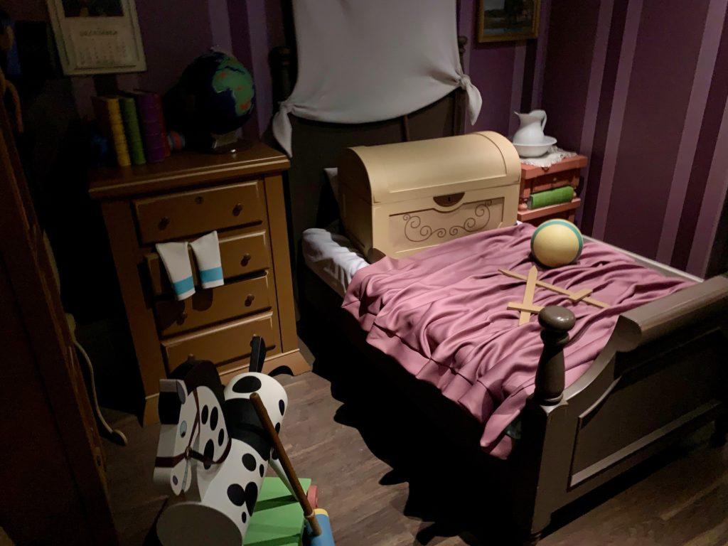 ダーリング家の子供部屋