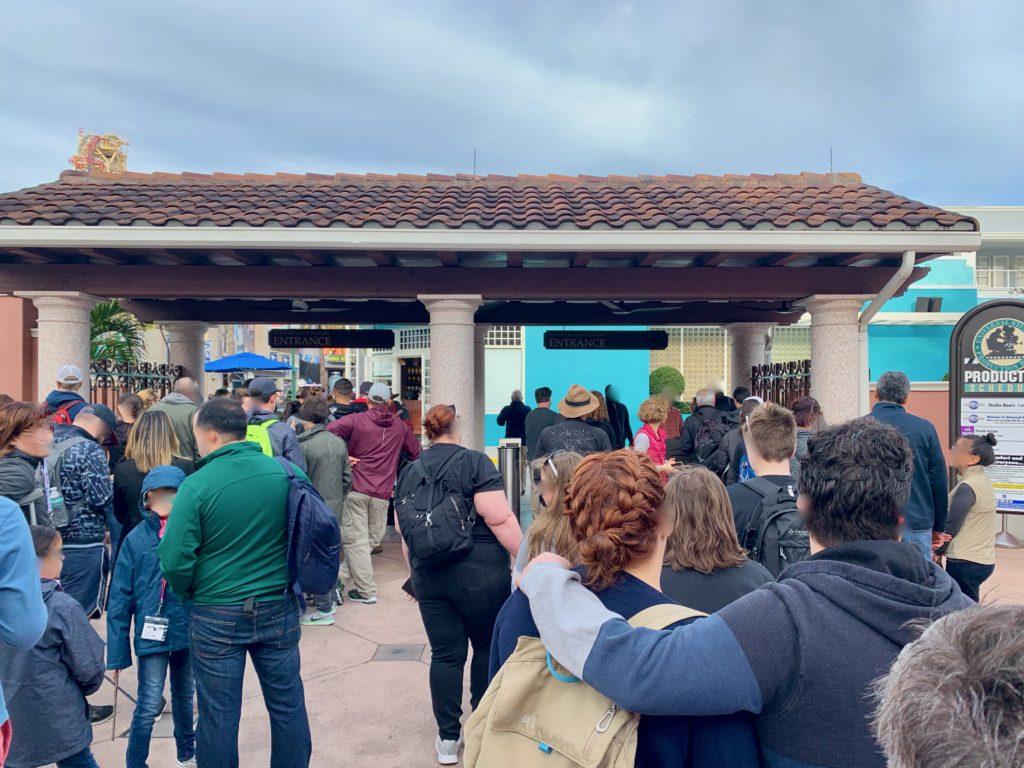 ユニバーサルスタジオフロリダの入場ゲート