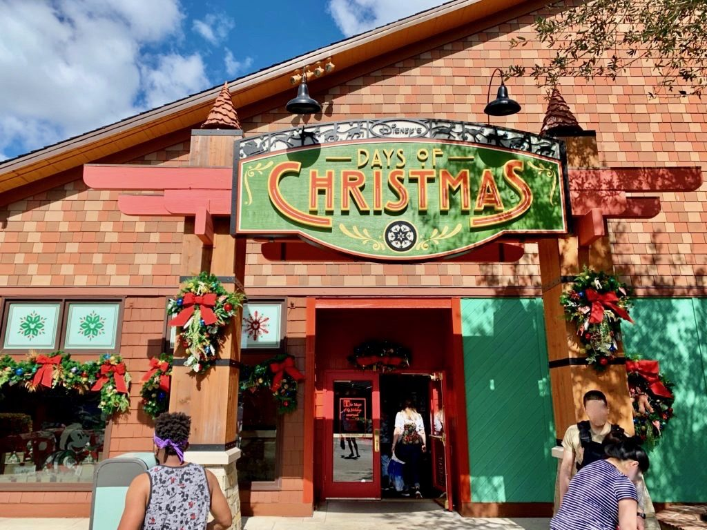 1年中クリスマスグッズを売っている「デイオブクリスマス」