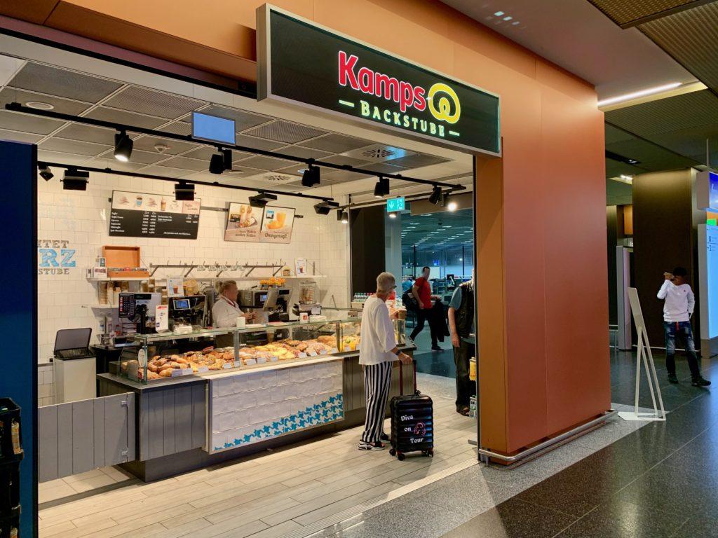 ターミナル2のカフェ