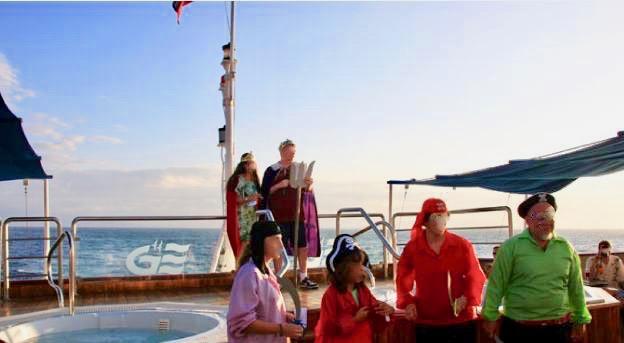 クルーズ船でのイベント風景