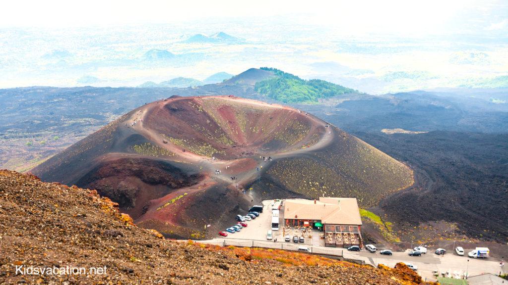 エトナ山にあるシルヴェストリの穴