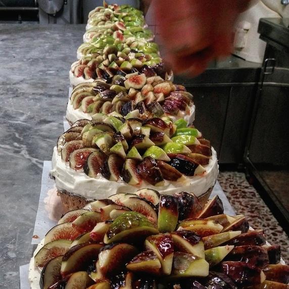 イチジクのケーキ