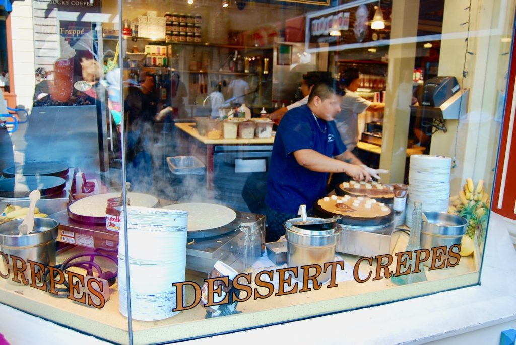 サンフランシスコにフィッシャーマンズワーフピア39のデザートのお店