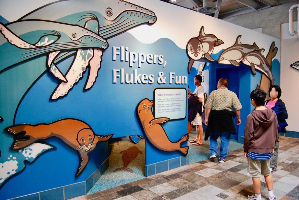 モントレーベイ水族館の展示室