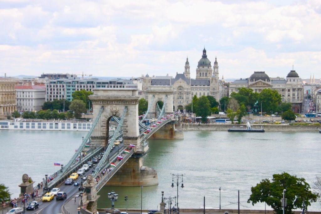 鎖橋と聖イシュトバーン大聖堂