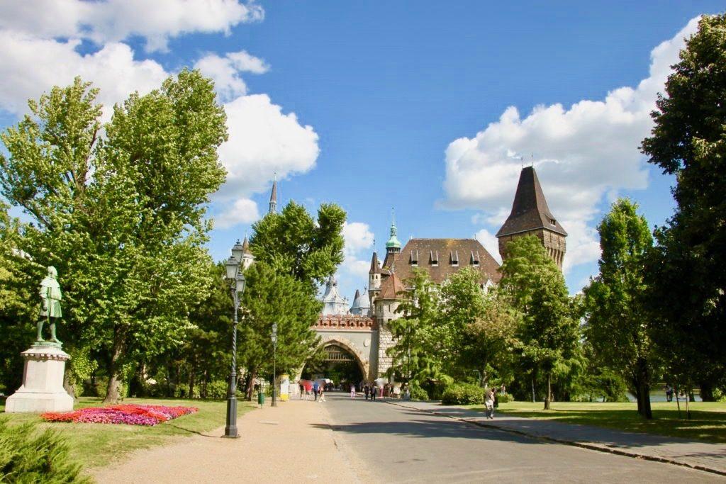 ブダペスト市民公園の入り口
