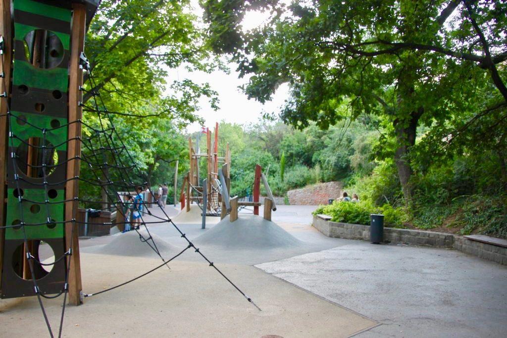 ゲッレールトの丘の児童公園