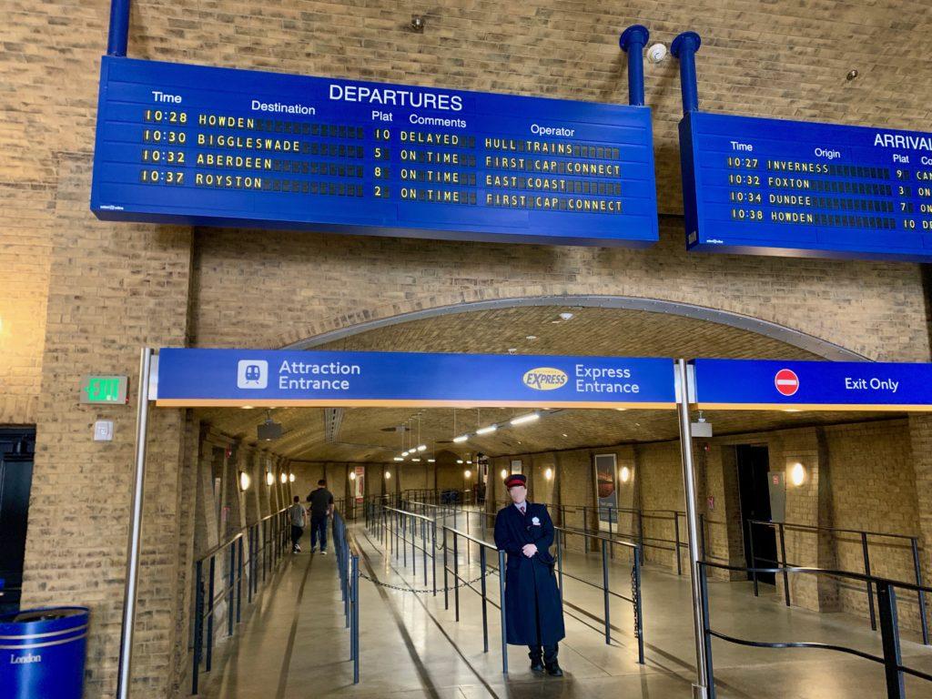 キングスクロス駅の入り口
