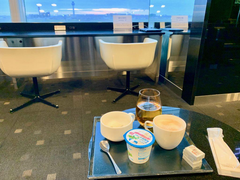 羽田空港国際線ラウンジ