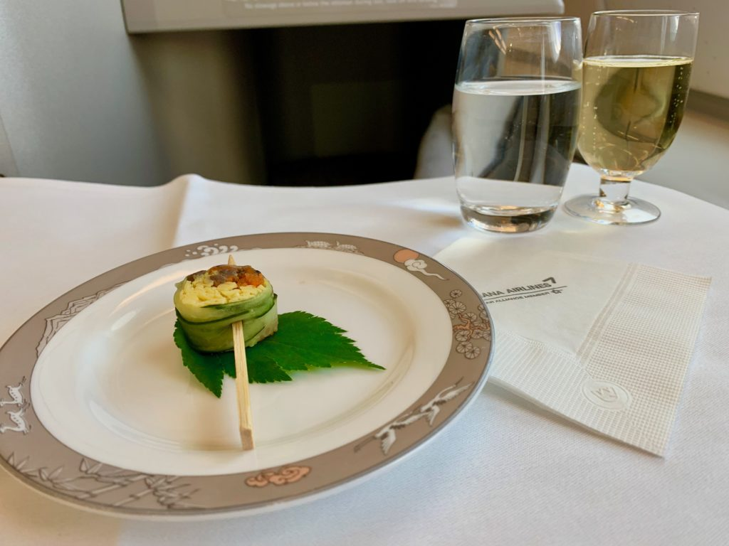 ソウルーフランクフルトの昼食メニューとワインリスト