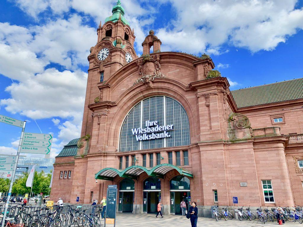 ヴィースバーデン駅舎