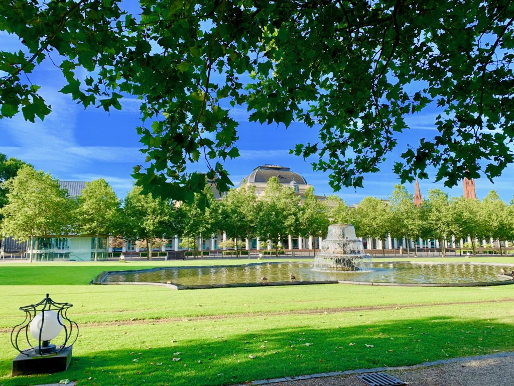 ヴィーズバーデンの公園