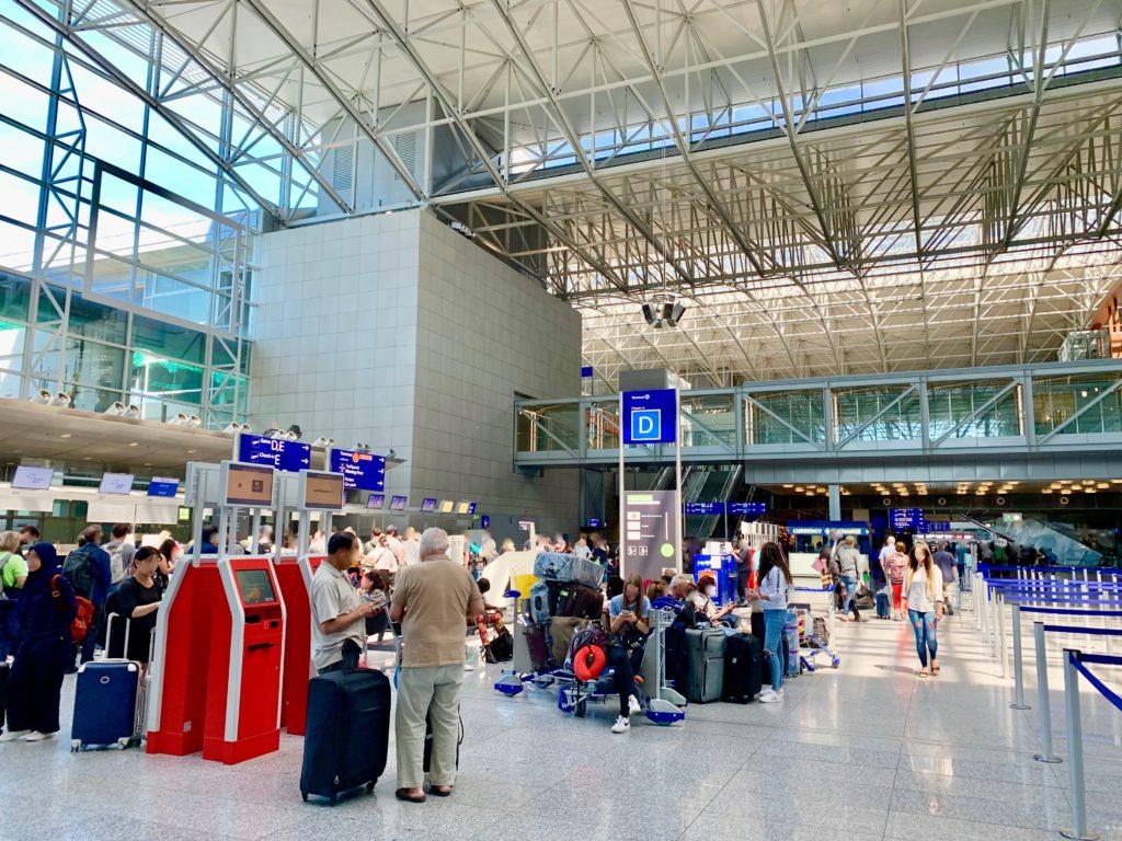 フランクフルト空港ターミナル2