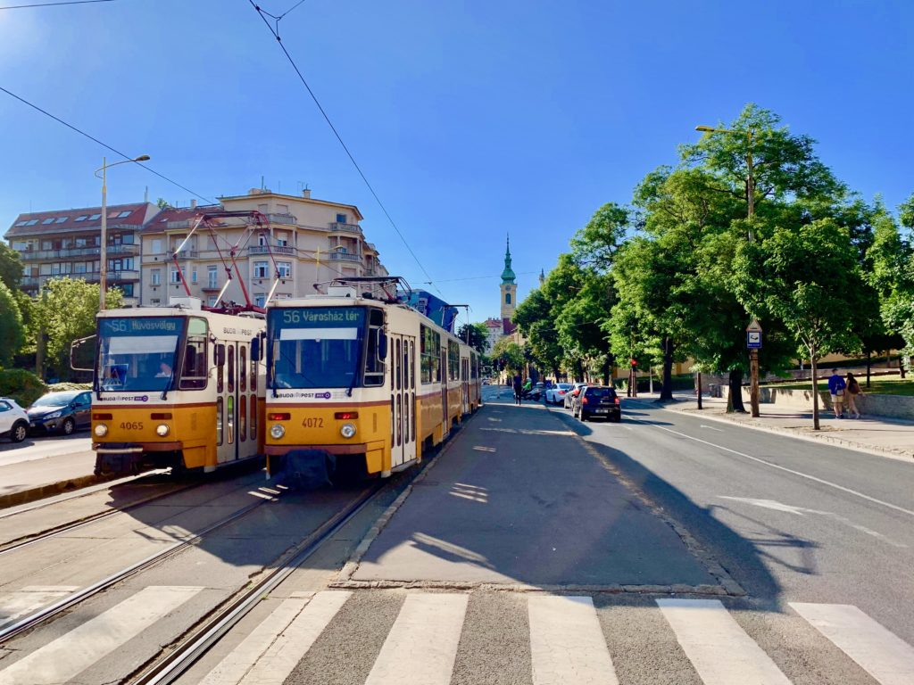 ブダペストのトラム