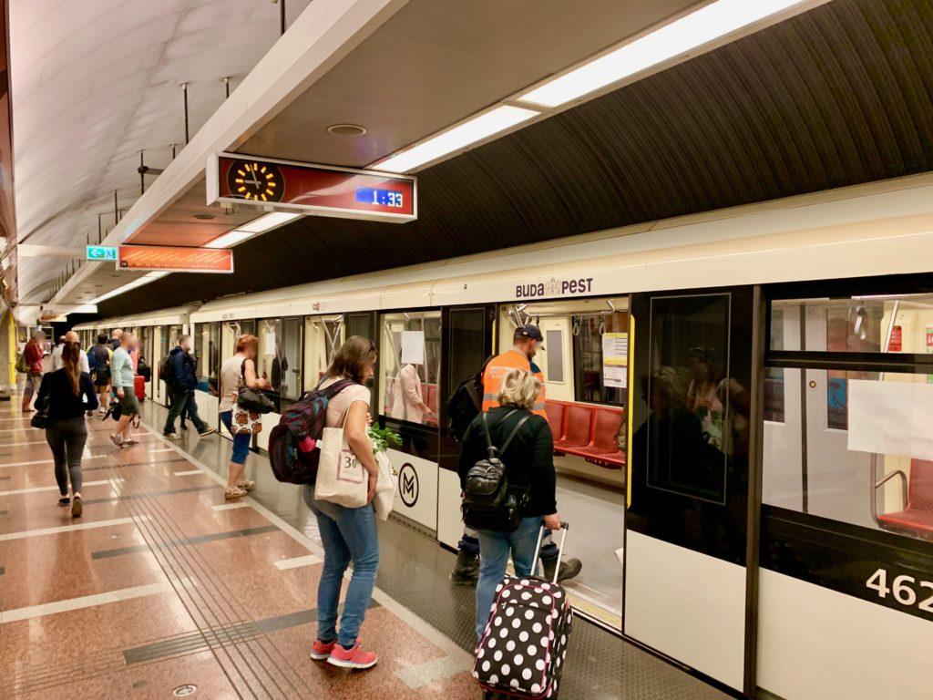 ブダペスト地下鉄2号線南駅