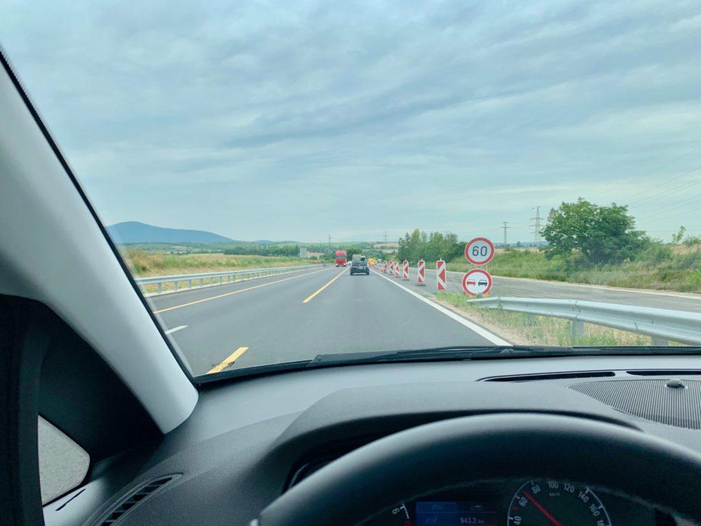 ハンガリーの高速道路