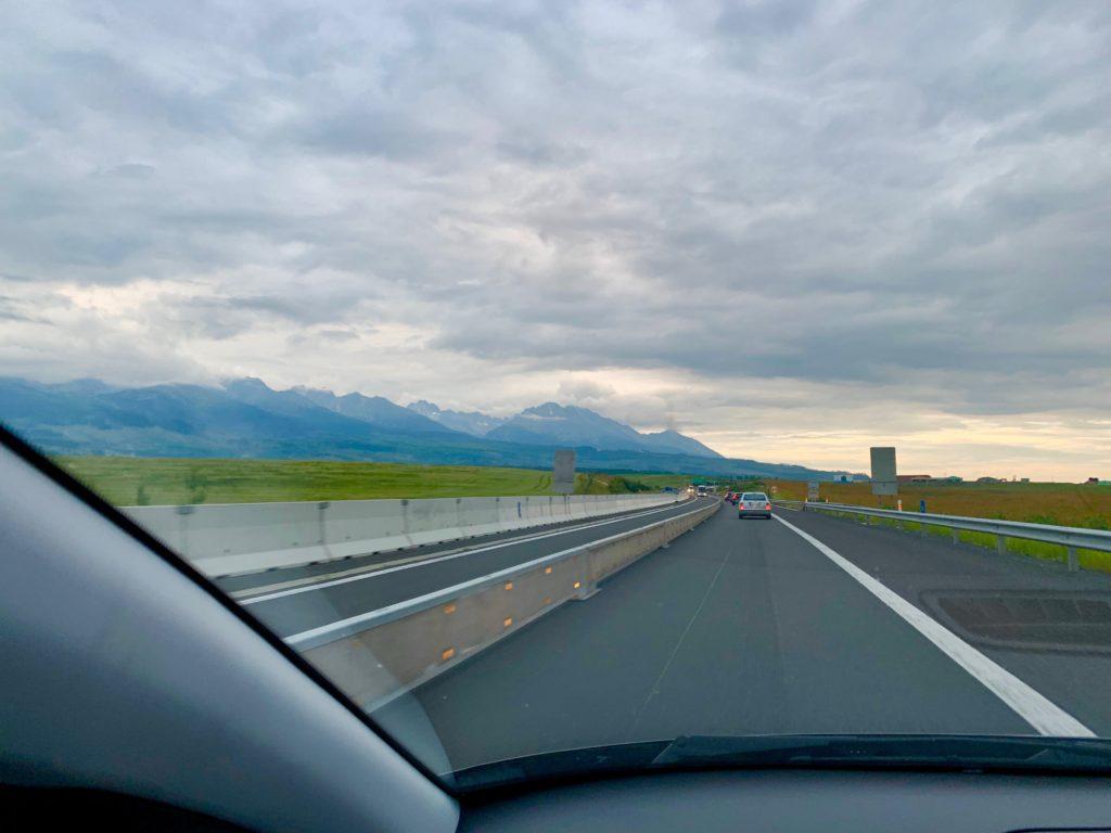 スロヴァキアの高速道路