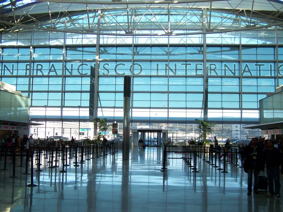 サンフランシスコ国際空港のメインターミナル