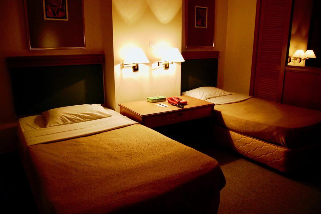 ラハダトゥ・エグゼクティグホテルのベッドルーム