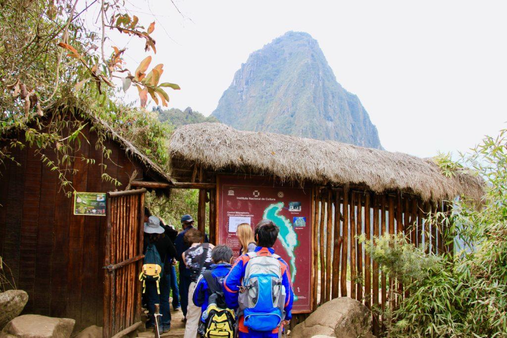 ワイナピチュの入山ゲート