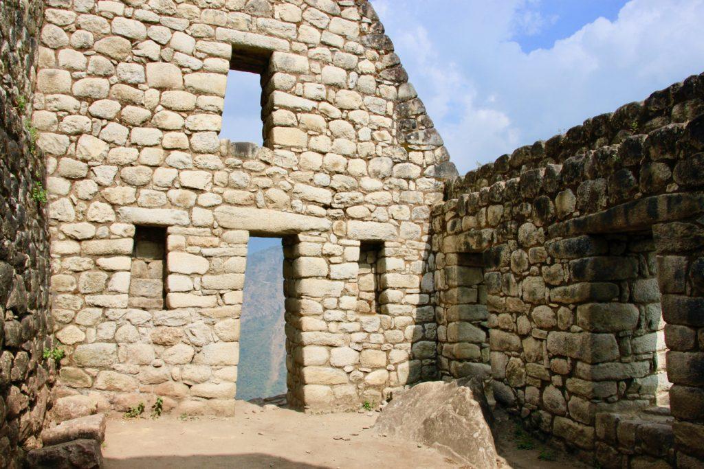 遺跡の建物内部