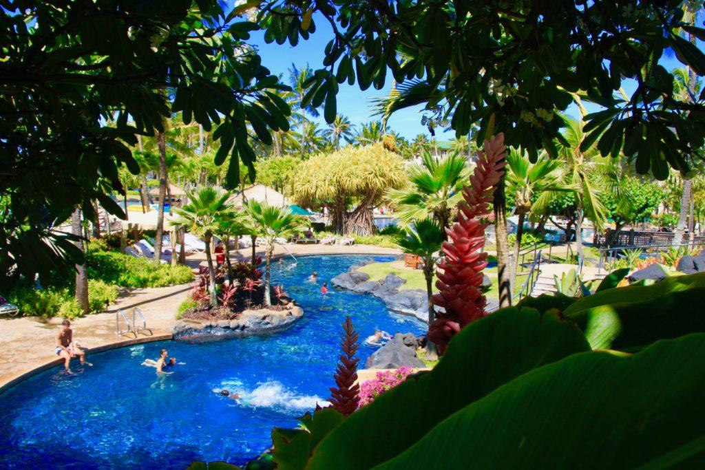 グランドハイアットカウアイリゾート&スパのプール