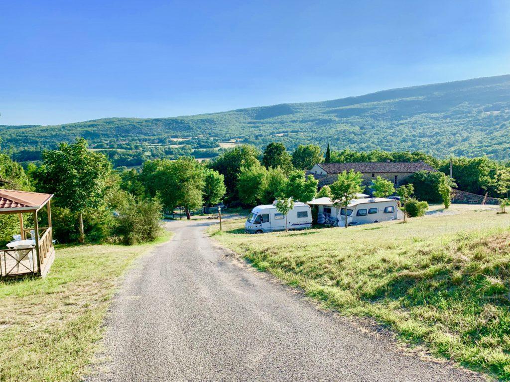 Domaine Natuiriste des Lauzonsの眺望