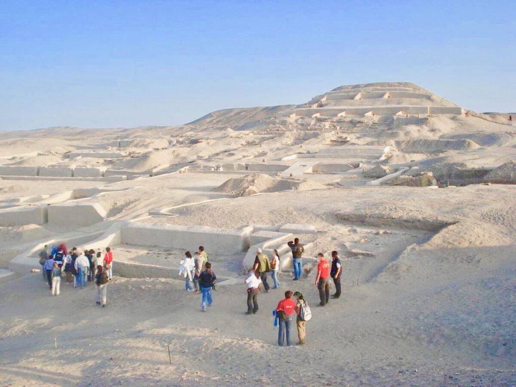 カワチ遺跡のピラミッド