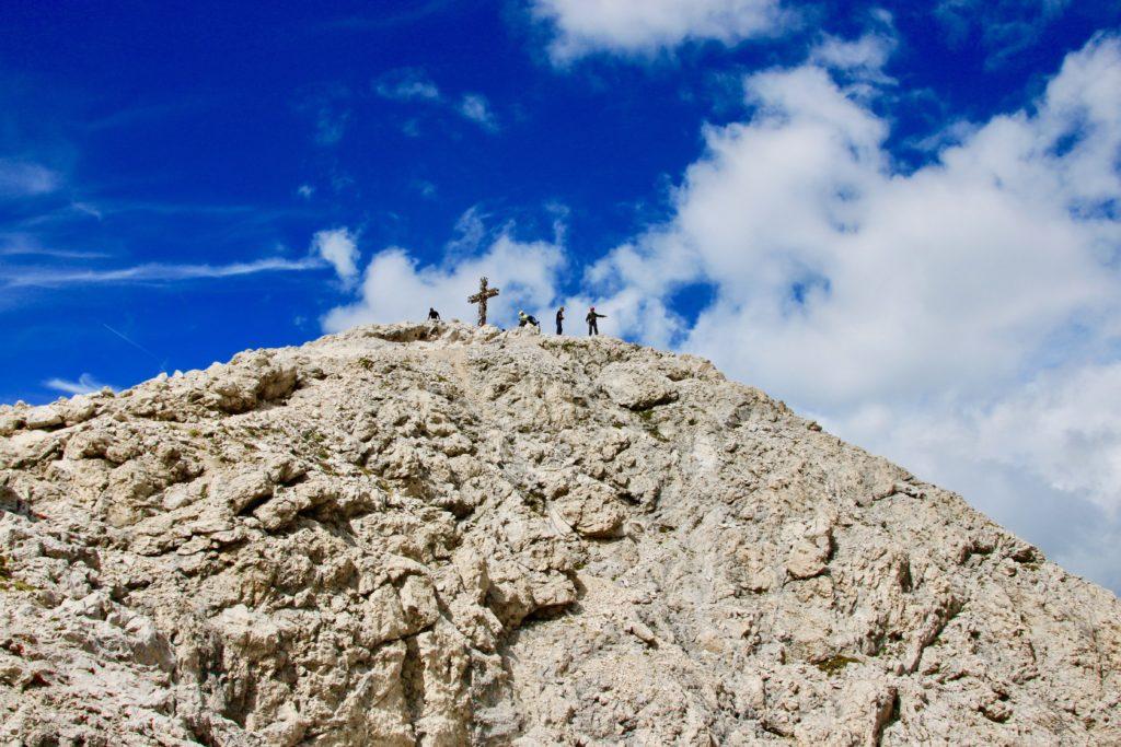 サッソピアットの頂上が見えてきた