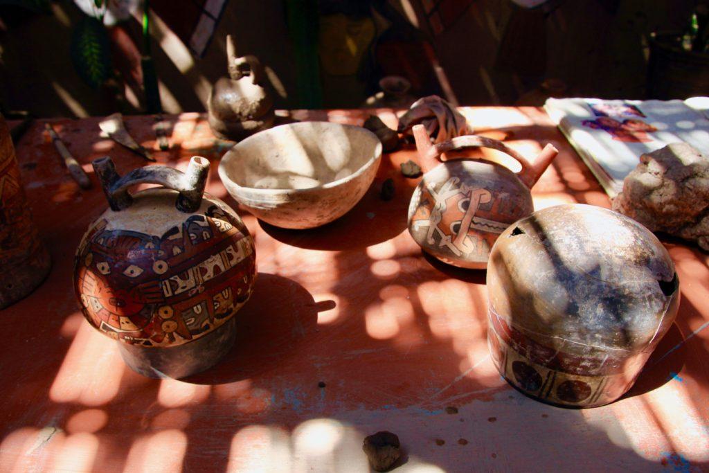 たくさんの陶器